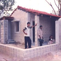 Renewable cold process bricks and panels from waste and clay