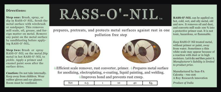 Rass-O'-Nil Label